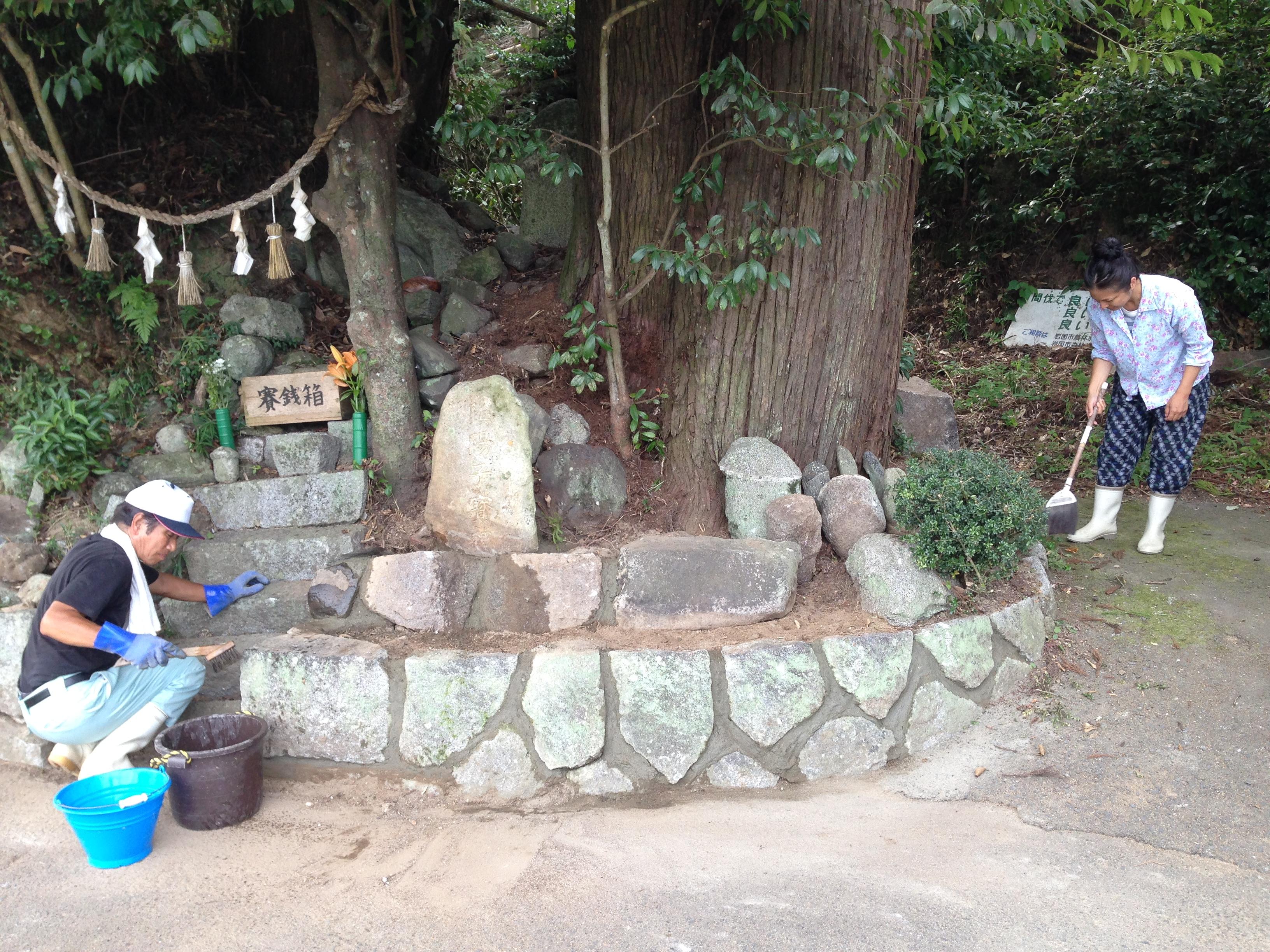 石の神は、自然の豊穣の祈りなのです