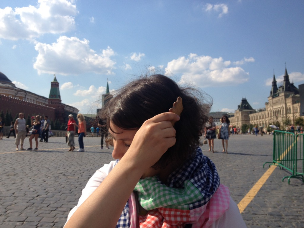 ロシアで「かっさ」してきました!