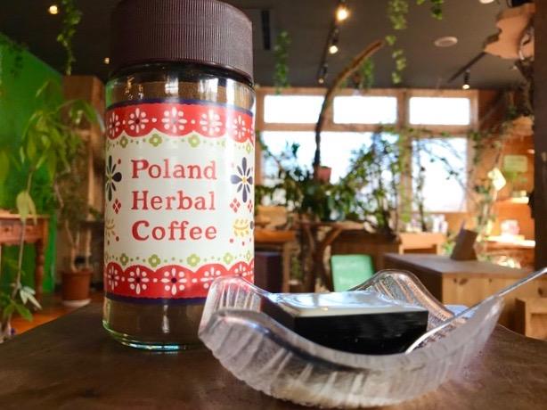 ポーランドハーバルコーヒー発売記念☆in森の食堂