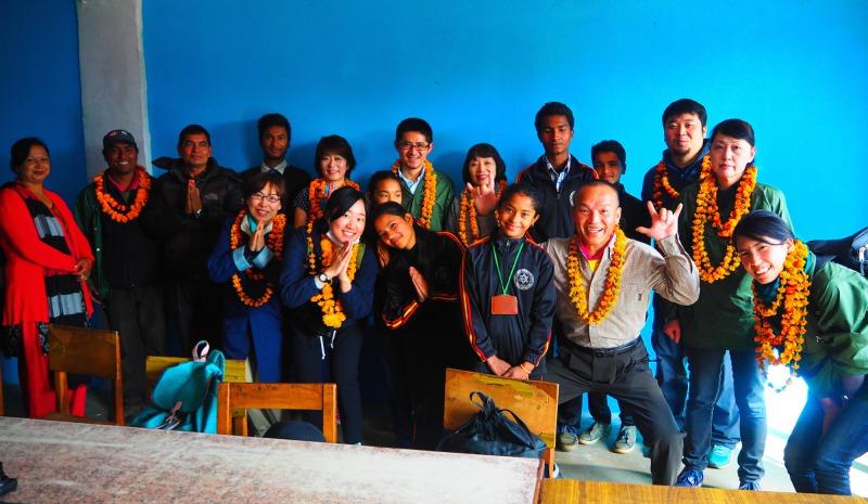 「香風」の香りのふるさと・ネパールのお話をうかがいました。